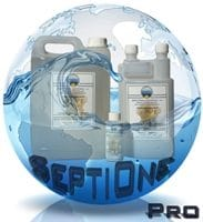 Désinfectant professionnel septione materiel de plongée