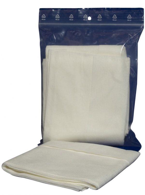 Chiffons doux pour traitement sur surfaces fragiles et délicates type PMMA méthacrylate