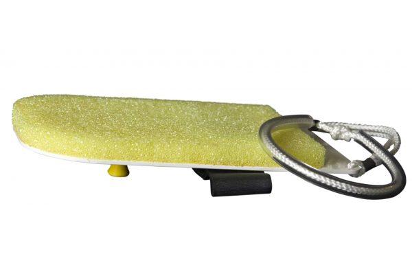 Brosse slim pour nettoyage du PMMA des panneaux des aquariums